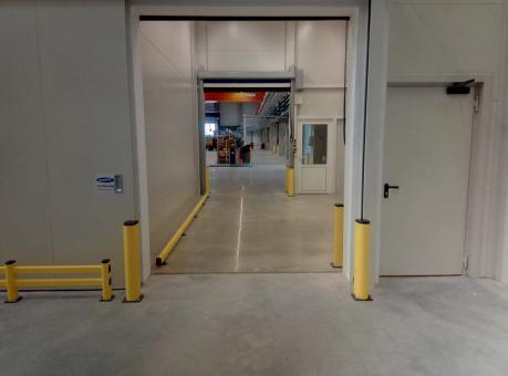Protection de passage usine